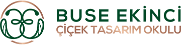 Buse Ekinci Çiçek Tasarım Okulu Logo